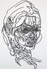 100cm(h) x 75cm(w), Acrylic on paper.